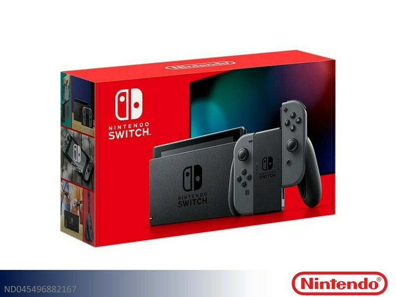 Switch Gray Gaming System by Nintendo (32GB)