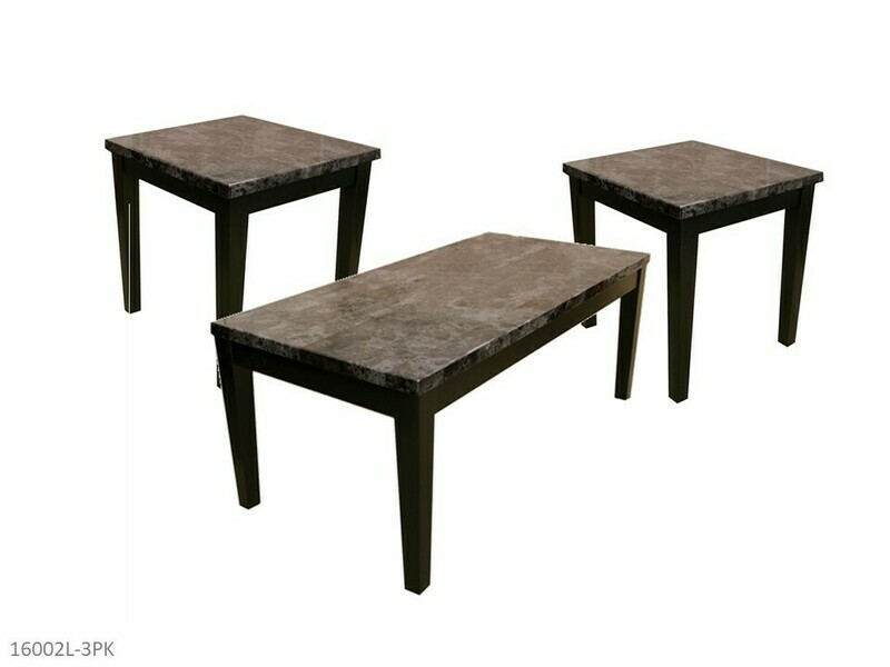 Brecci Faux Marble Occasional Table Set by AWFCO (3 Piece Set)
