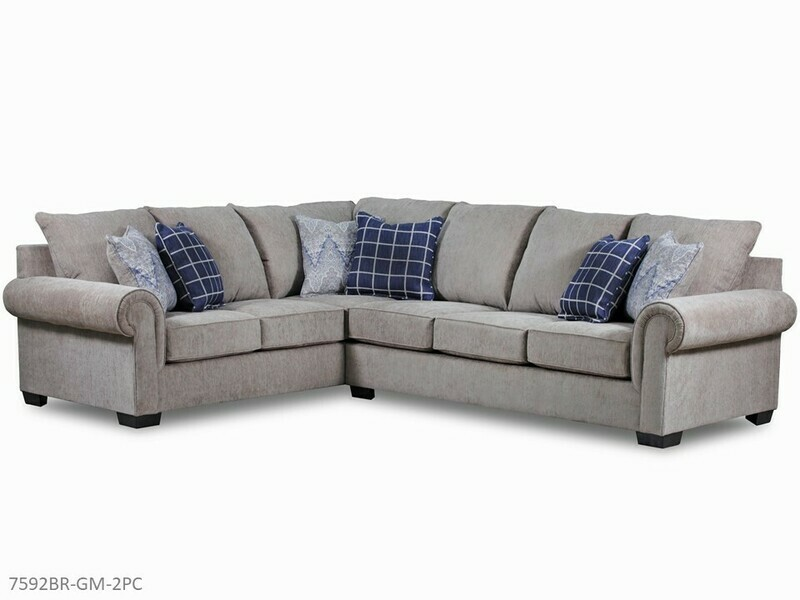 Gavin Mushroom Stationary Sectional by AWFCO (2 Piece Set)