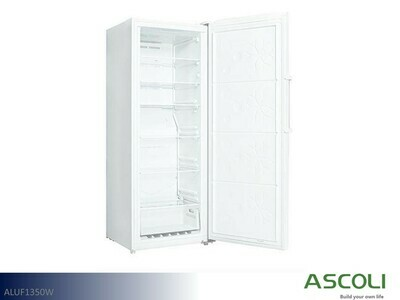 White Upright Freezer by Ascoli (13 Cu Ft)