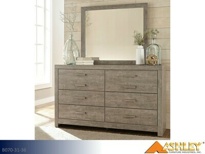 Culverbach Gray Dresser with Mirror by Ashley