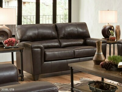 Soft Touch Bark Loveseat by Lane