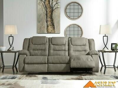 McCade Cobblestone Reclining Sofa by Ashley