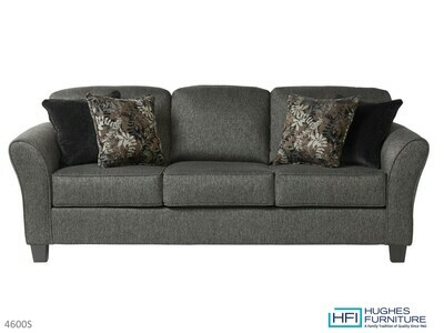 Stoked Ash Stationary Sofa by Hughes