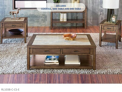 Sonoma County Occasional Table Set by AWF Imports (3 Piece Set)