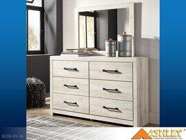 Cambeck Whitewash Dresser with Mirror by Ashley