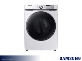White Front Load Electric Dryer by Samsung (7.5 Cu Ft)