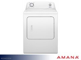 White Electric Dryer by Amana (6.5 Cu Ft)