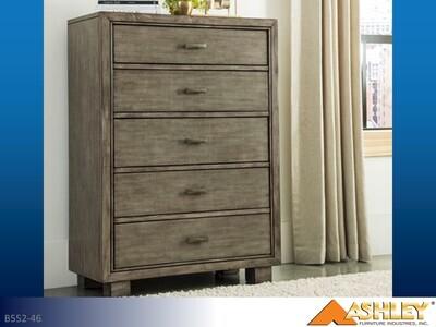 Arnett Gray Chest by Ashley