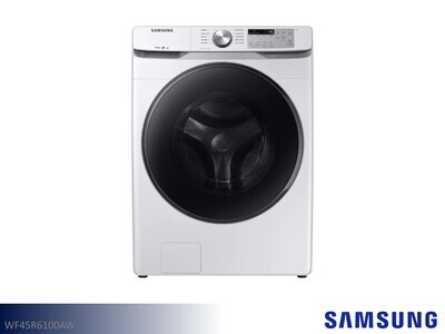 White Front Load Washer by Samsung (4.5 Cu Ft)