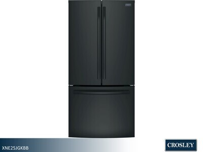 Black French Door Refrigerator by Crosley (24.8 Cu Ft)