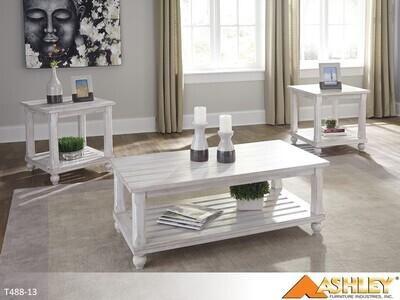 Cloudhurst Occasional Table Set by Ashley (3 Piece Set)