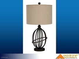 Manasa Bronze Lamps by Ashley