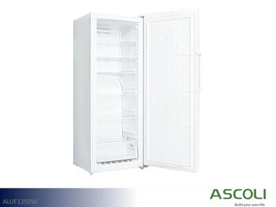 White Upright Freezer by Ascoli (13 Cu Ft)