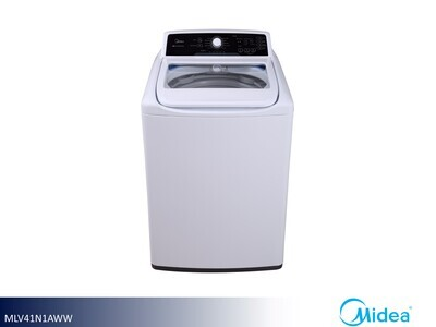 White Top Load Washer by Midea (4.1 Cu Ft)