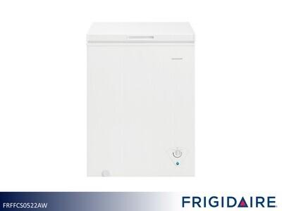 White 5 Cu Ft Chest Freezer by Frigidaire (5 Cu Ft)