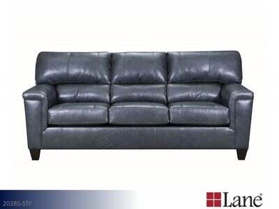 Soft Touch Fog Stationary Sofa by Lane