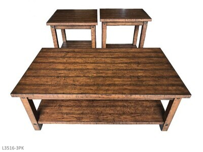Woodsman Occasional Table Set by AWF Imports (3 Piece Set)