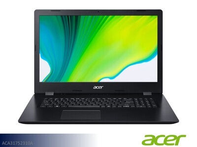 Black Laptop by Acer (17.3