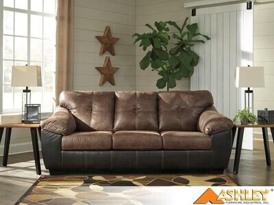 Gregale Coffee Stationary Sofa by Ashley