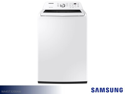 White Top Load Washer by Samsung Appliances (4.5 Cu Ft)