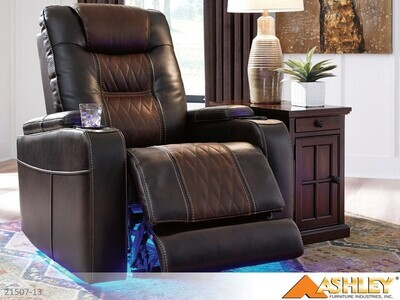 Composer Brown Recliner by Ashley
