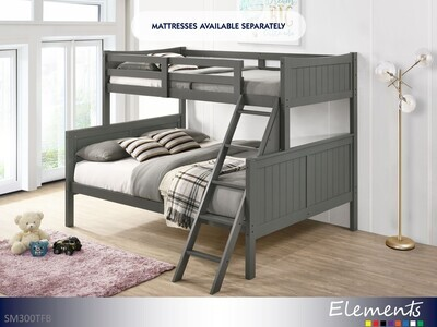 Sami Gray Bunk Bed by Elements (Twin-Full)