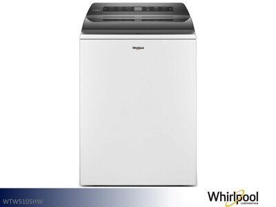 White Top Load Washer by Whirlpool (4.7 Cu Ft)