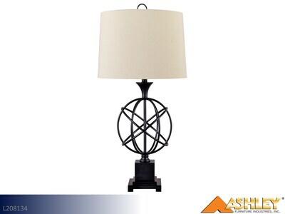 Camren Black Lamps by Ashley