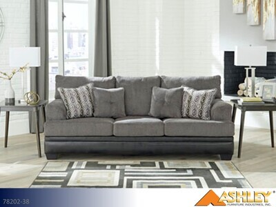Millinger Smoke Stationary Sofa by Ashley