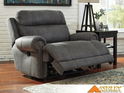 Austere Gray Recliner by Ashley