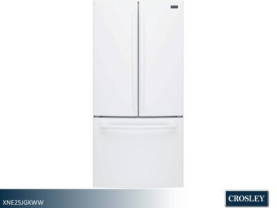 White French Door Refrigerator by Crosley (24.8 Cu Ft)