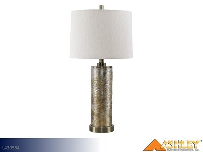 Farrar Gold Lamps by Ashley