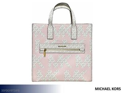 Kenly Powder Blush Handbag by Michael Kors (Large Tote)