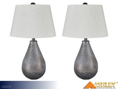 Bateman Patina Lamps by Ashley (Pair)