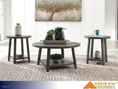 Caitbrook Gray Occasional Table Set by Ashley (3 Piece Set)