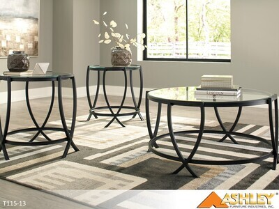 Tarrin Occasional Table Set by Ashley (3 Piece Set)