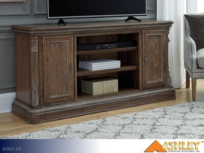 Charmond Brown TV Stand by Ashley (Extra Large)