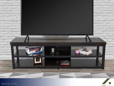 Marlow Oak TV Stand by Living Essentials (73