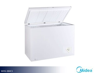 White Large Chest Freeer by Midea (10.2 Cu Ft)