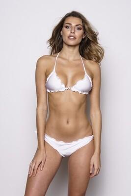 Bikini triangolo bianco