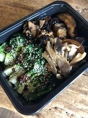 Asian Noodle Dinner - Vegetarian Mushroom Noodle