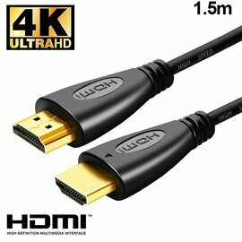 Cable HDMI a HDMI Audio-Video Universal (1.5 metros) Ultra 4K COOL
