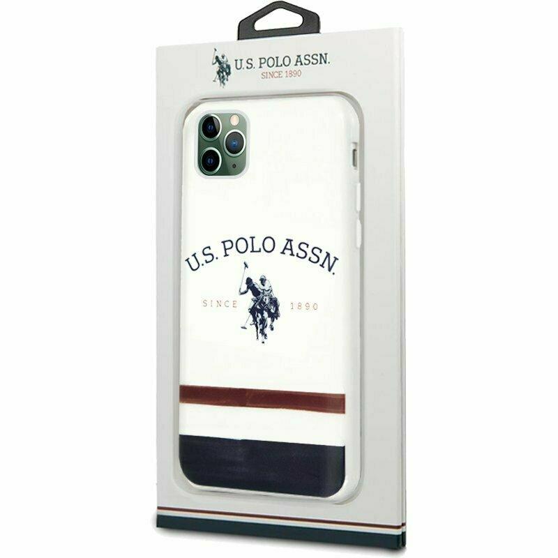 Carcasa iPhone 11 Pro Licencia Polo Ralph Lauren Blanco