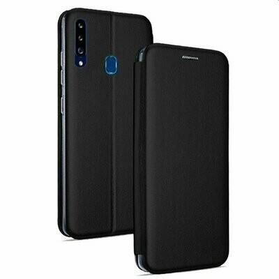 Funda COOL Flip Cover para Samsung A207 Galaxy A20s Elegance Negro