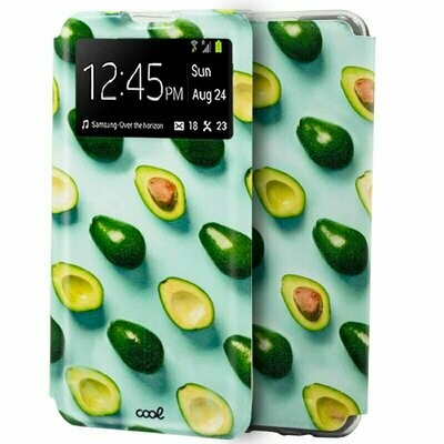 Funda COOL Flip Cover para Samsung A505 Galaxy A50 / A30s Dibujos Aguacates
