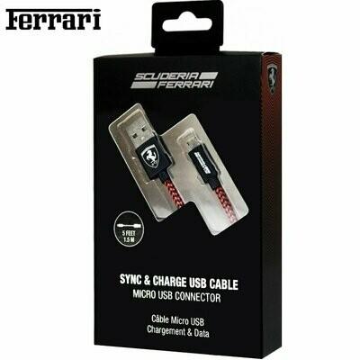 Cable USB Licencia Ferrari Universal Micro-USB