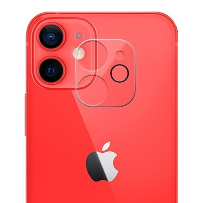 Protector Cámara Trasera iPhone 12 Mini-Cristal Templado
