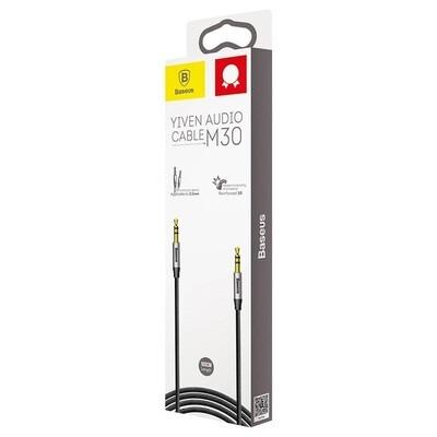 Cable de Audio Baseus Jack 3.5mm - Yiven CAM30-BS1 (1m)