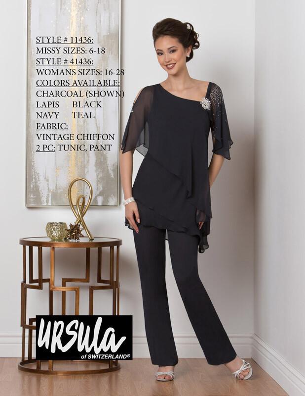 Ursula Switzerland 41436 pant suit size 18